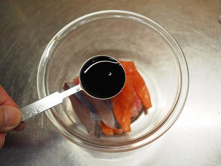余った刺身で漬け納豆蕎麦021