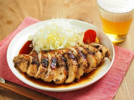 鶏むね肉の花椒照り焼き006