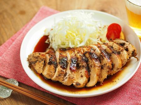 鶏むね肉の花椒照り焼き008