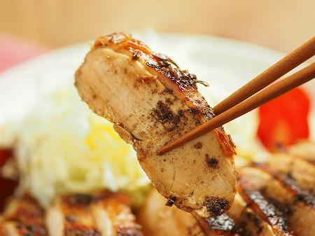 鶏むね肉の花椒照り焼き013
