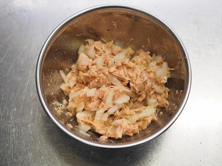ツナマヨ卵丼045