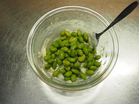 枝豆のクリームチーズ和え034