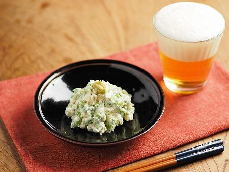 枝豆のクリームチーズ和え006