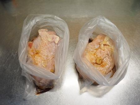 鶏むね肉の鴨ロース炊飯器003