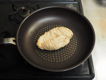 鶏むね肉の鴨ロース炊飯器016