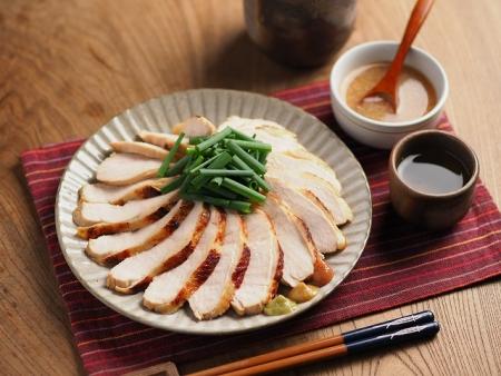 鶏むね肉の鴨ロース炊飯器024
