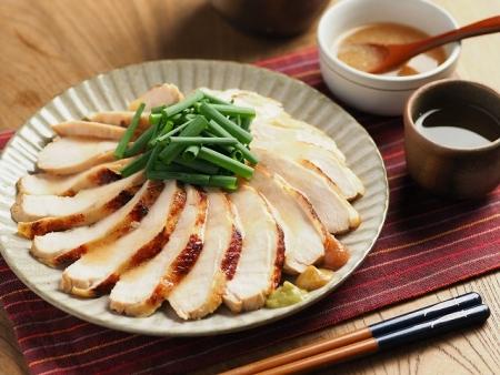 鶏むね肉の鴨ロース炊飯器040