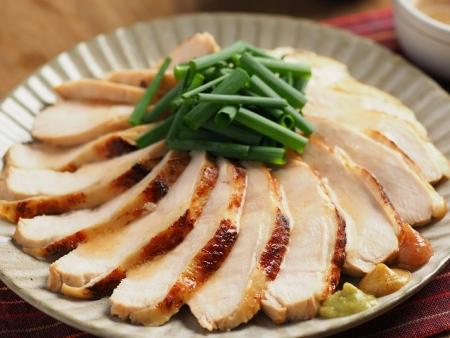 鶏むね肉の鴨ロース炊飯器042