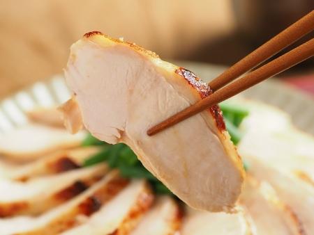 鶏むね肉の鴨ロース炊飯器047