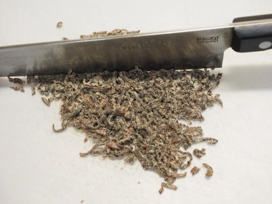 マグロ刺身の塩昆布漬け003