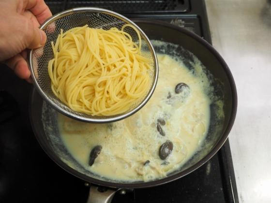牡蠣のオイル漬け豆乳クリーム019