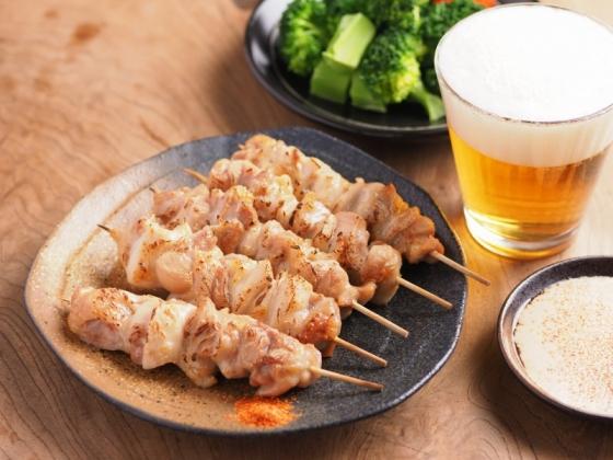 鶏もも肉のトースター焼き鳥031