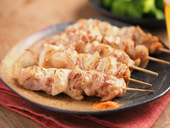 鶏もも肉のトースター焼き鳥054