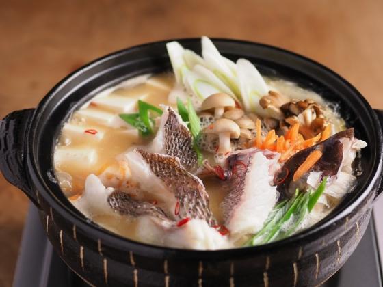 真鯛の海鮮味噌鍋037