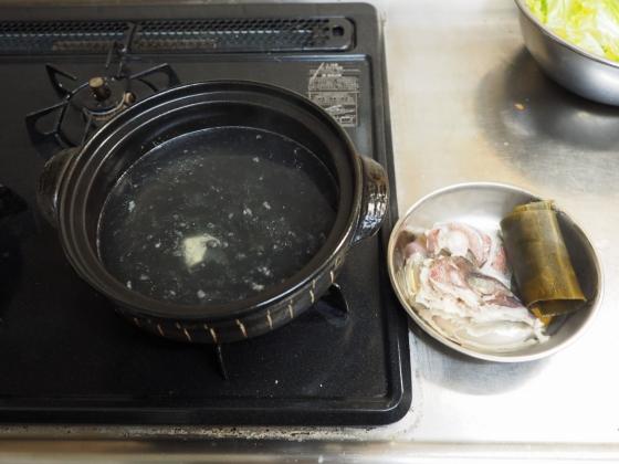 真鯛の海鮮味噌鍋017