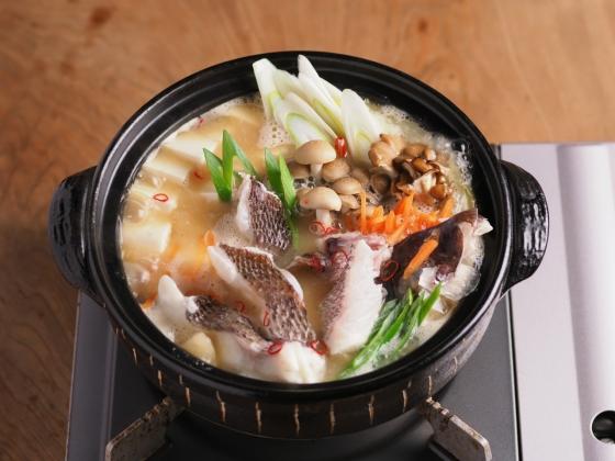 真鯛の海鮮味噌鍋026