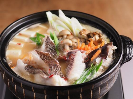 真鯛の海鮮味噌鍋038