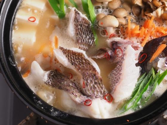 真鯛の海鮮味噌鍋032