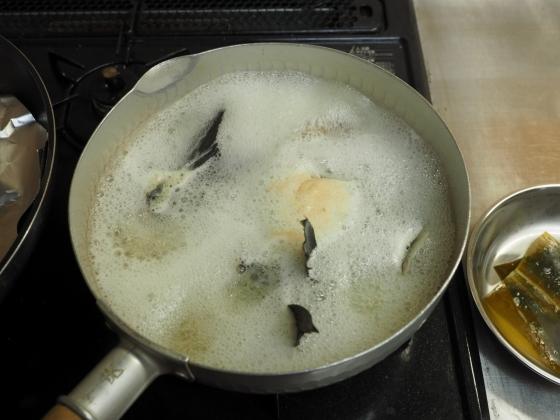 メジナの味噌汁017