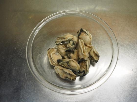 牡蠣のガーリックトマト煮016