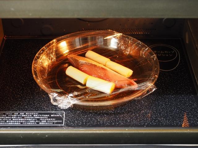ブリのレンジ煮つけ012