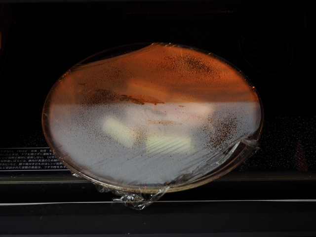 ブリのレンジ煮つけ014
