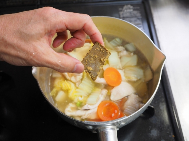 白菜たっぷり力餅カレースープ006