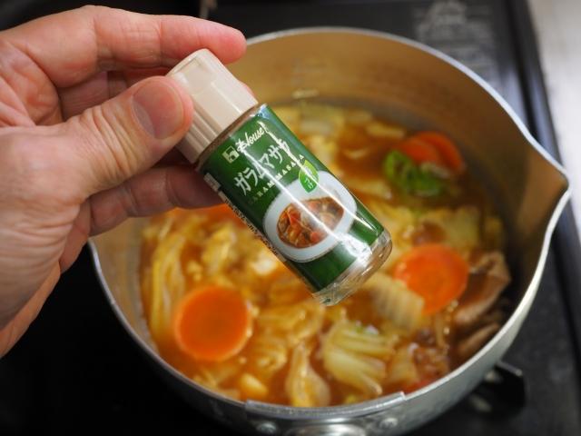 白菜たっぷり力餅カレースープ010