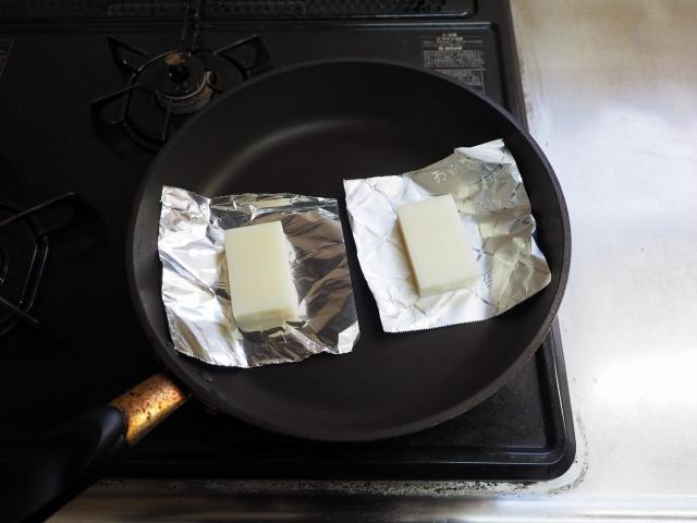 フライパンで餅の焼き方006