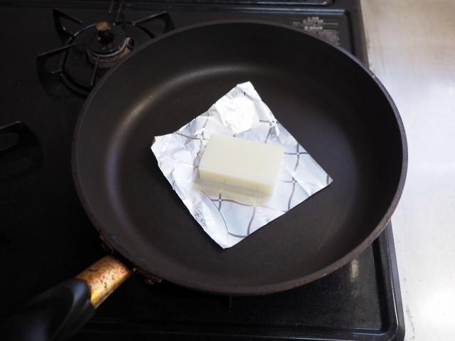 フライパンで餅の焼き方013