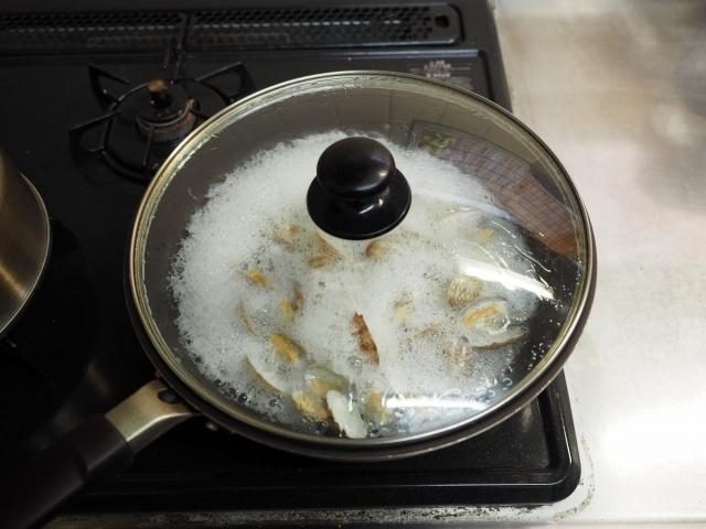 鯛と菜の花の炊き込みご飯019