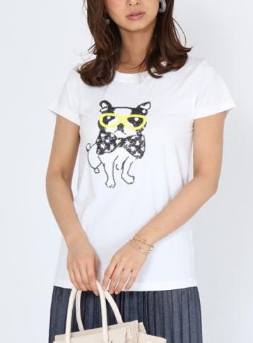 スパンコールシャツ1