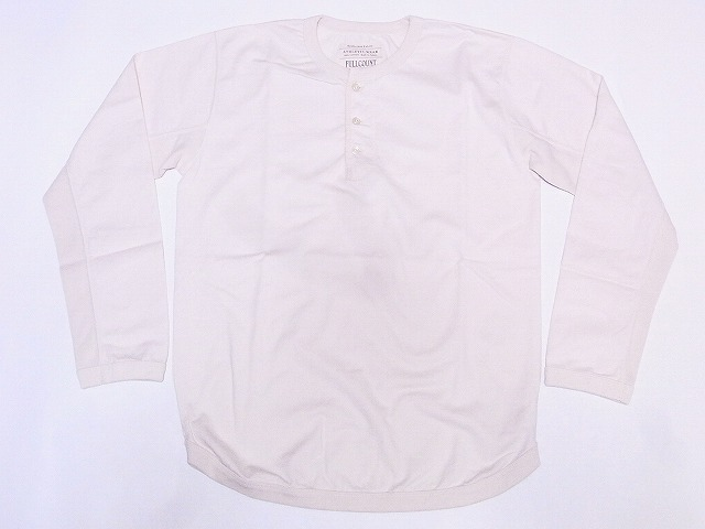 フルカウント ロンT ヘンリーネック ロングスリーブTシャツ 5222LH