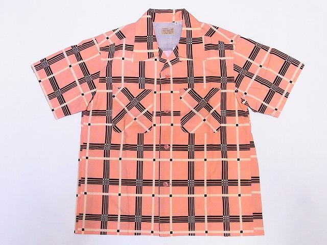 スタイルアイズ オープンシャツ CHECK PRINT SE38354
