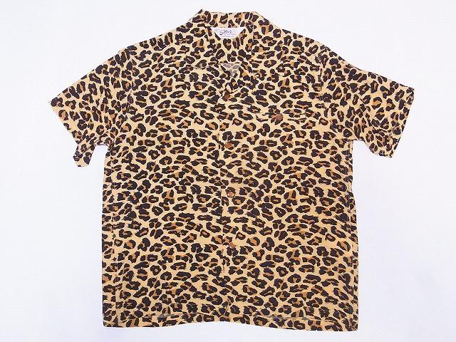 スターオブハリウッド オープンシャツ LEOPARD SH38380 ヒョウ柄