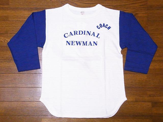 ウエアハウス ベースボールTシャツ 4800 七分袖 CARDINAL