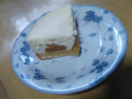 レアアップルケーキ