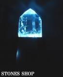 水晶ポリッシュポイント1880g(LEDライト台付)No4