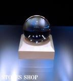 【鑑別書付】天然水晶(無垢)40.2mm丸玉①