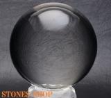 【鑑別書付 CQ4189】天然水晶(無垢) 71.6mm 510.00 GM