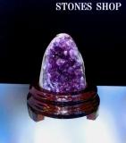 ウルグアイアメシスト原石(台付)670 gNo1-2