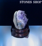 ウルグアイアメシスト原石(台付)543gNo6