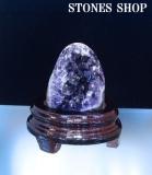 ウルグアイアメシスト原石(台付)543gNo1