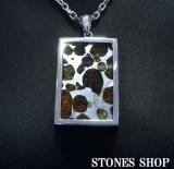 セイムチャン隕石(ロシア産)スクエア型SVPTNo2