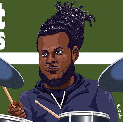 Corey Fonville caricature likeness