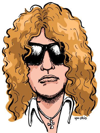 Ian Hunter caricature likeness