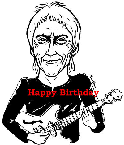 Paul Weller caricature likeness
