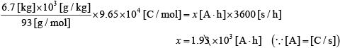 【令和2年度(2020年度)大学入試センター試験】化学・第3問・問5