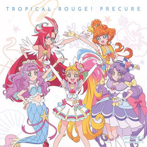 【トロピカル~ジュ!プリキュア 主題歌シングル】キャンバスブロマイド(スーパーアート6色印刷)