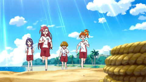 【トロピカル~ジュ!プリキュア】第07話「やってくる!海の妖精くるるん!」01